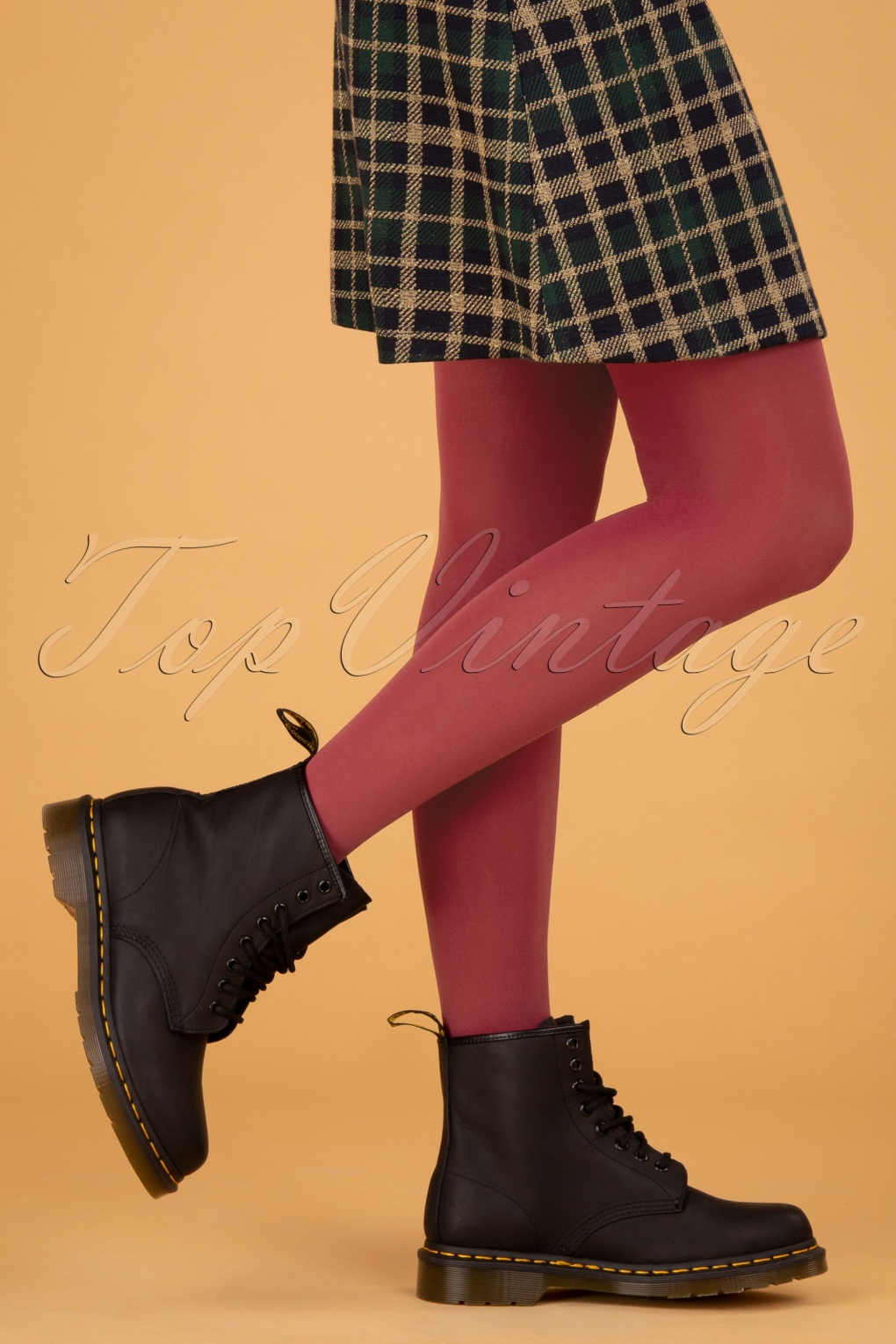 60s Mod Clothing Outfit Ideas 60s Tights in Anemone Reddie £21.23 AT vintagedancer.com