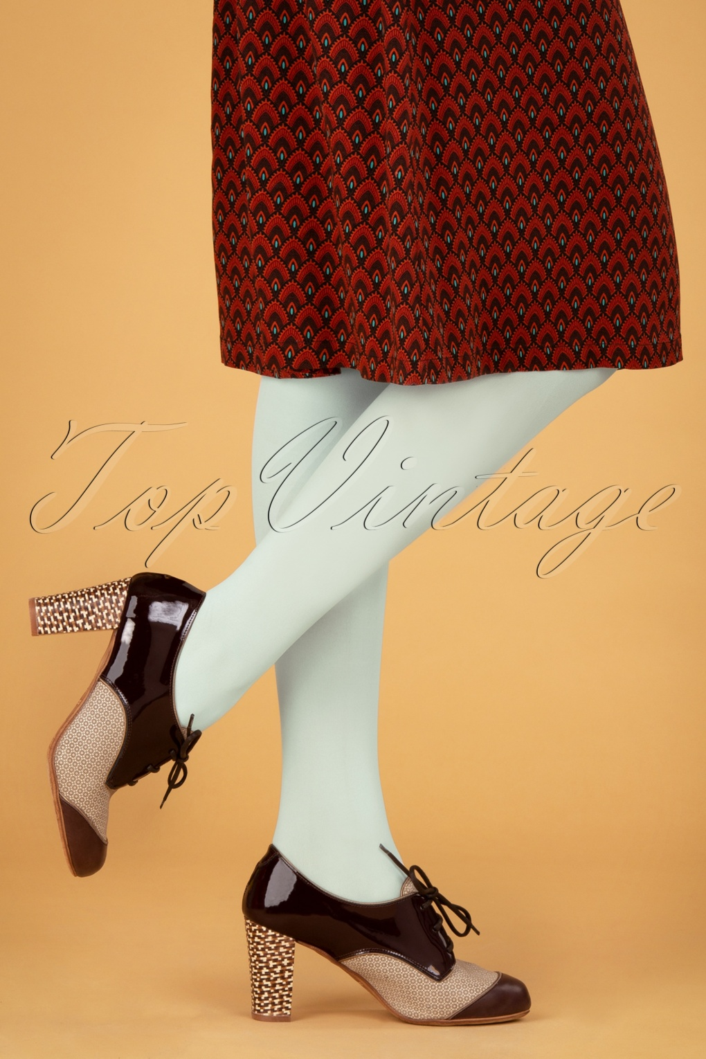 60s Mod Clothing Outfit Ideas 60s Tights in Iceblue Summer £21.23 AT vintagedancer.com