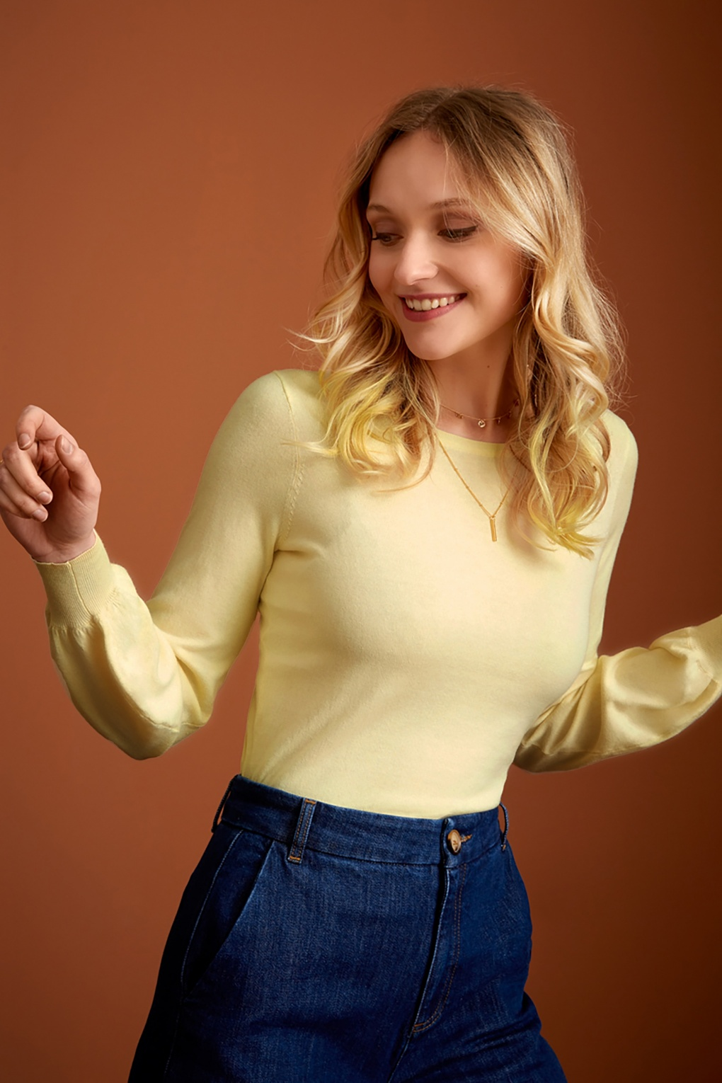 1970s Shirts, Tops, Blouses, T-Shirt Styles   History 70s Bell Cottonclub Top in Cream £59.52 AT vintagedancer.com