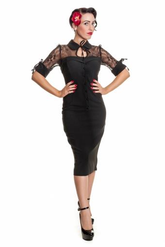 Marie Lace Dress SKU03120713 black