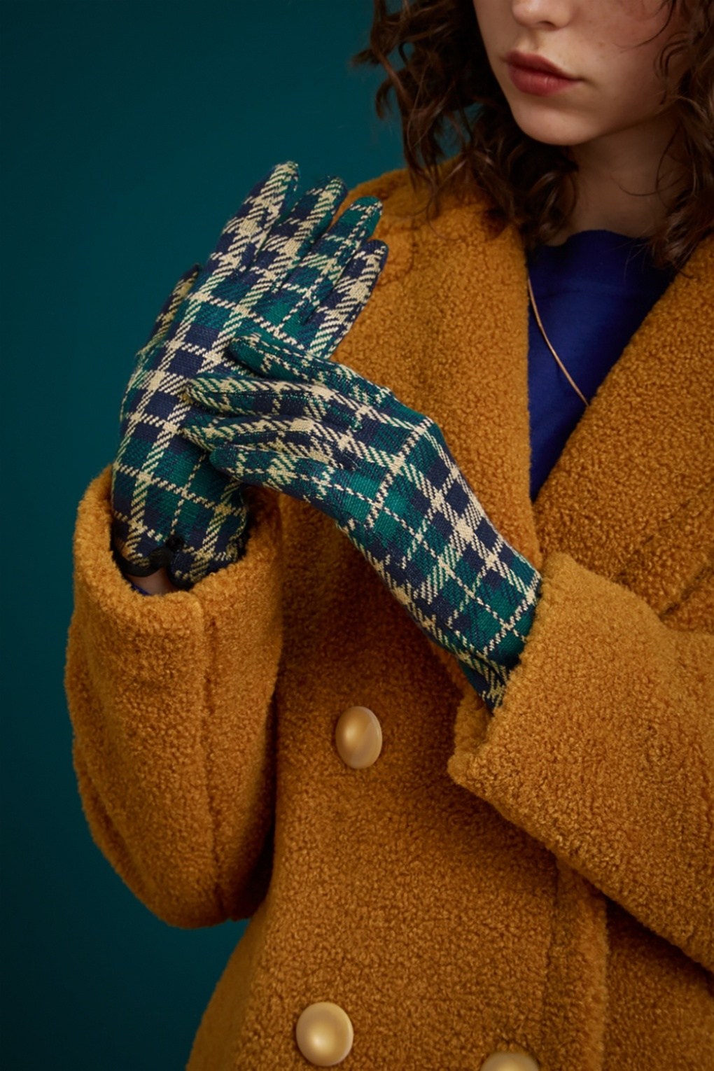Vintage Style Gloves- Long, Wrist, Evening, Day, Leather, Lace 60s Zeppelin Gloves in Peacoat Blue £17.03 AT vintagedancer.com
