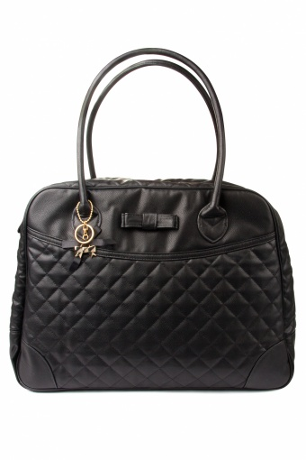 50s Boston bag large black quilted Bow_88-4331_0012