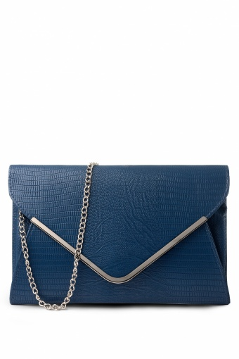 Milan Lulu Midnight Blue Envelope Bag Clutch hardcase_88-3962_013