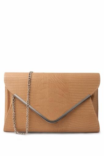 Lulu Camel Envelope Bag Clutch hardcase_88-3960_008