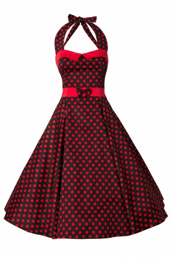 Collectif_50s Stella Sweetheart Doll Red Polka Dot swing dress_44-4699_20130311_0005
