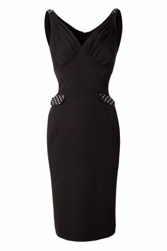 Miss Candyfloss 50s Felisha Retro fitted dress Black_44-4572_20130311_0005
