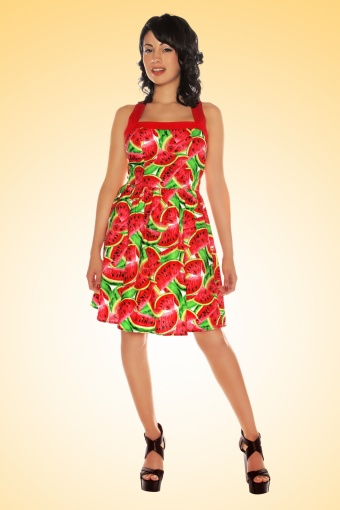 Watermelon Dress Retrolicious TopVintage