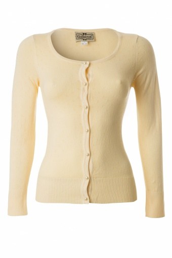 Collectif Clothing 50s Freddie Cardigan Sweet Yellow_01-4980_20130514_0005