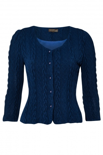 AW13 Bray Cardigan Navy front