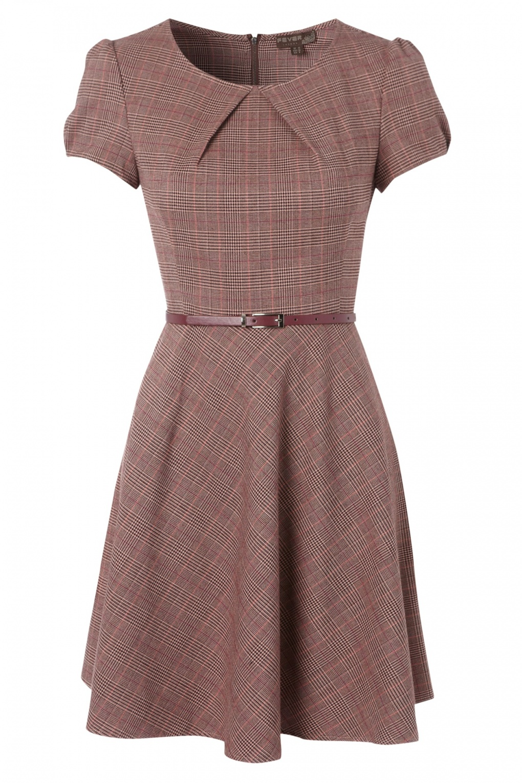 how to fix retro tartan dress