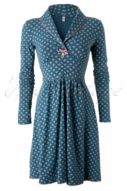 Kleid petrol 42