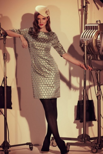 barbarella sleeve dress