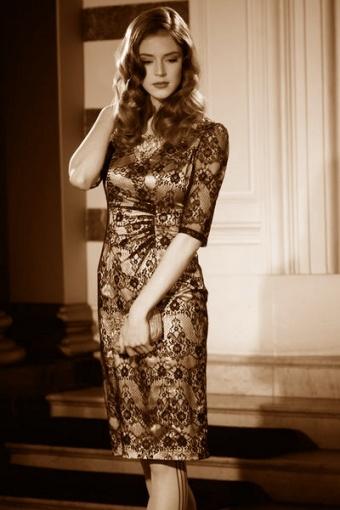Pavlova Dress FeverSepia2