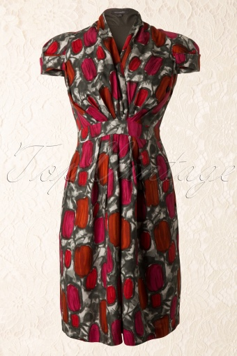 Emily and Fin Elsa Dress Red Print 105 27 11842 20131111 0003K