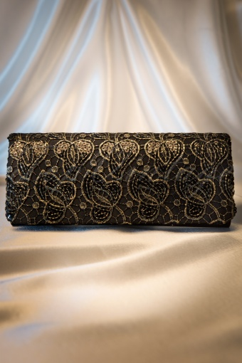 Darling Devine  Black and gold clutch 210 14 11351 20131203 0010W