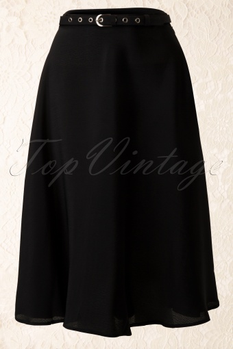 The Seamstress of Bloomsbury Circle Skirt Black 112 10 11857 20131112 0007K