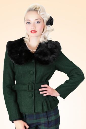 Geraldine Jacket Green
