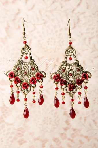 Foxy  Ruby Victoriana Earrings 334 20 11449 20131204 0011W