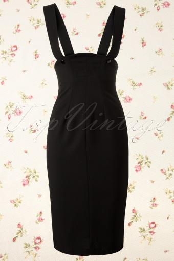 Bettie Page Clothing  Charlie Jumper Black pencil skirt 120 10 12008 20131210 015K