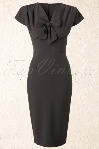 Stop Staring  Ploma Bow Pencil Dress Brown 109 15 11729 20131210 0002K