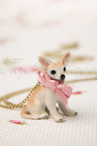 Mary  Antique Brass necklace Chihuahua 301 91 11510 20131211 0006VW