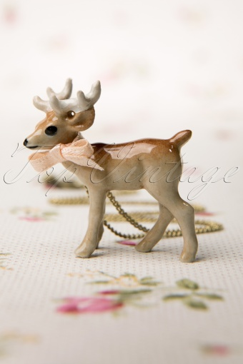 Mary  Antique Brass necklace Stag 301 91 11511 20131211 0003W