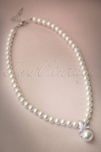 Collectif Clothing  Pearl Necklace 77 5273 20131204 0011W