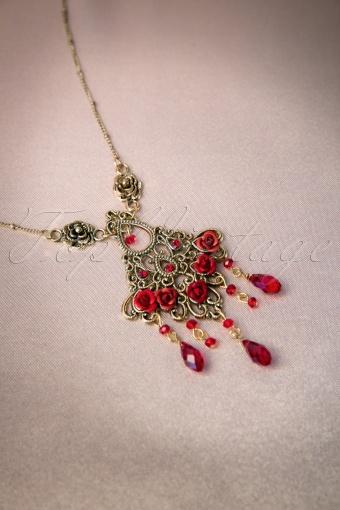 Foxy  Ruby Victoriana Necklace 301 20 11450 20131204 0006W