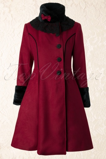 Bunny  Fairy Coat Burgundy 152 20 11972 20131202 0002W