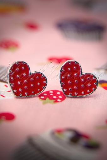 Sourpuss  Polka Heart Earrings 330 27 11796 20131218 0013W