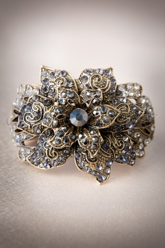 Darling Divine Gold Crystal 50s Cuff Bracelet 341 91 11444W