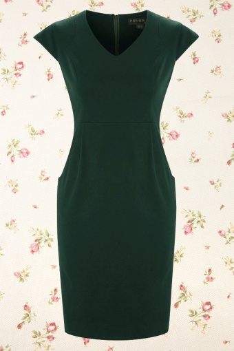 aw13 philadelphia dress green fV