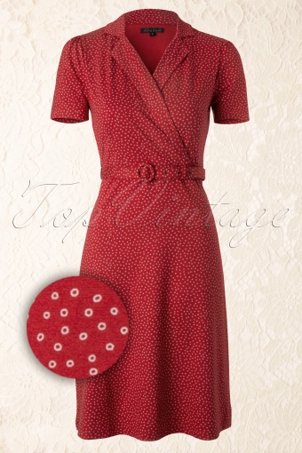 King Louie  Polo Cross Dress Red 107 27 12313 20140124 0004WVergrootglas