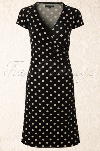 King Louie  Cross Dress Black Polkadot 107 14 12327 20140124 0004W