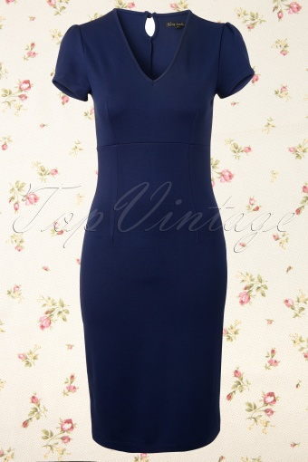 King Louie  Marilyn Dress Jet Blue 101 30 12350 20140130 0001W