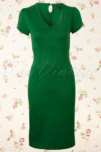 King Louie  Marilyn Dress Meadow Green 101 40 12352 20140130 0003W