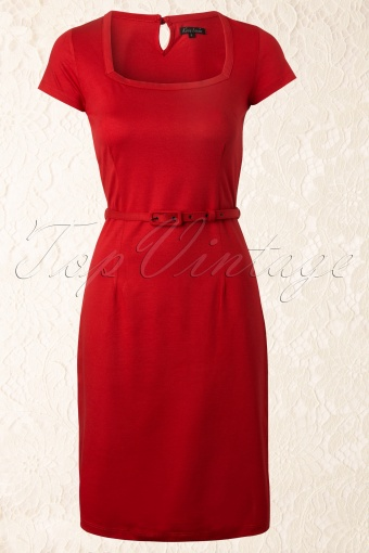 King Louie  Square Dress Red 101 21 12353 20140130 0003W