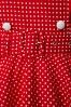 Bunny  Claudia 50s Red Swing Polkadot dress 102 27 12023 20140129 0006