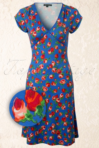 King Louie  Cup Dress Penny Lane French Blue 107 39 12348 20140130 0001WV