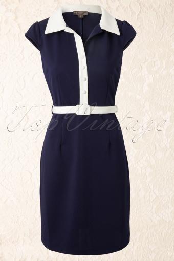 Fever  Ink White Melbourne Dress 101 31 12159 20140203 0003VW