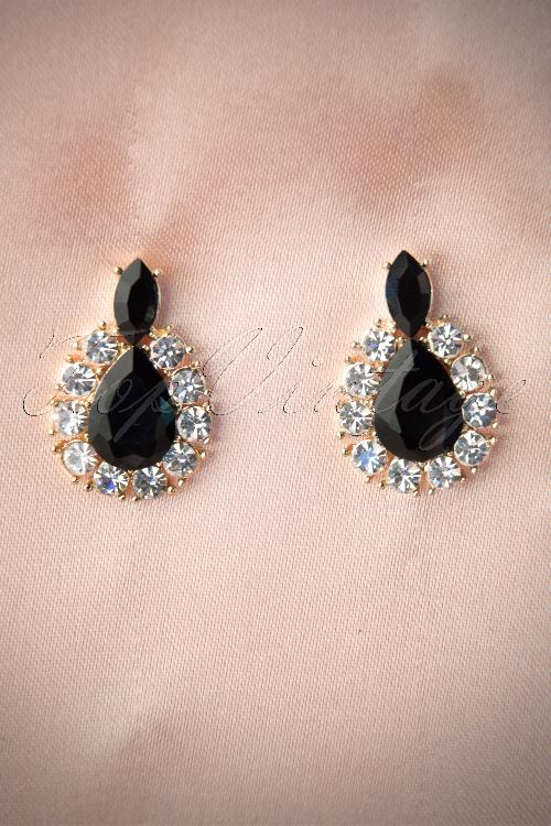 From Paris With love  Teardrop Diamant Earstuds 12113 20140205 0008W