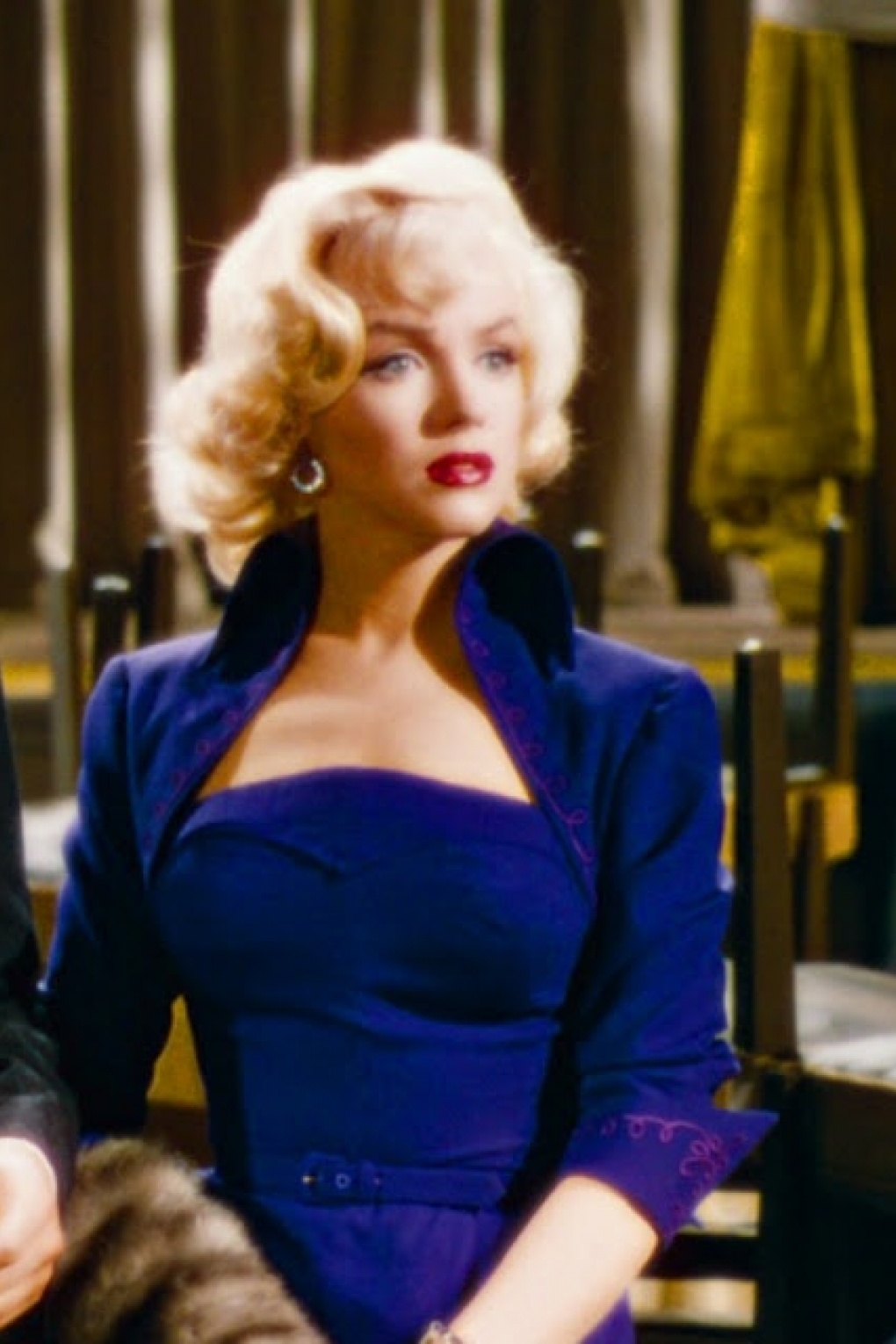Monroe Marilyn blue dress pictures recommendations to wear in summer in 2019