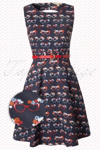 Yumi  Sunglasses Dress Navy Blue 105 39 12492 20140210 0002W