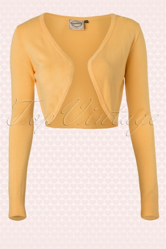 Banned  Vintage Bolero in Yellow 12732 20140305 0007 FrontW