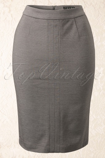 Fever  50s Joni Skirt in Charcoal 12145 20140204 0002W