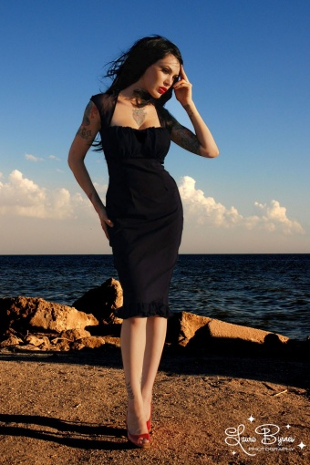 Pinup Couture  Micheline Dress 100 10 12646 20140228 0002W Model fotoL