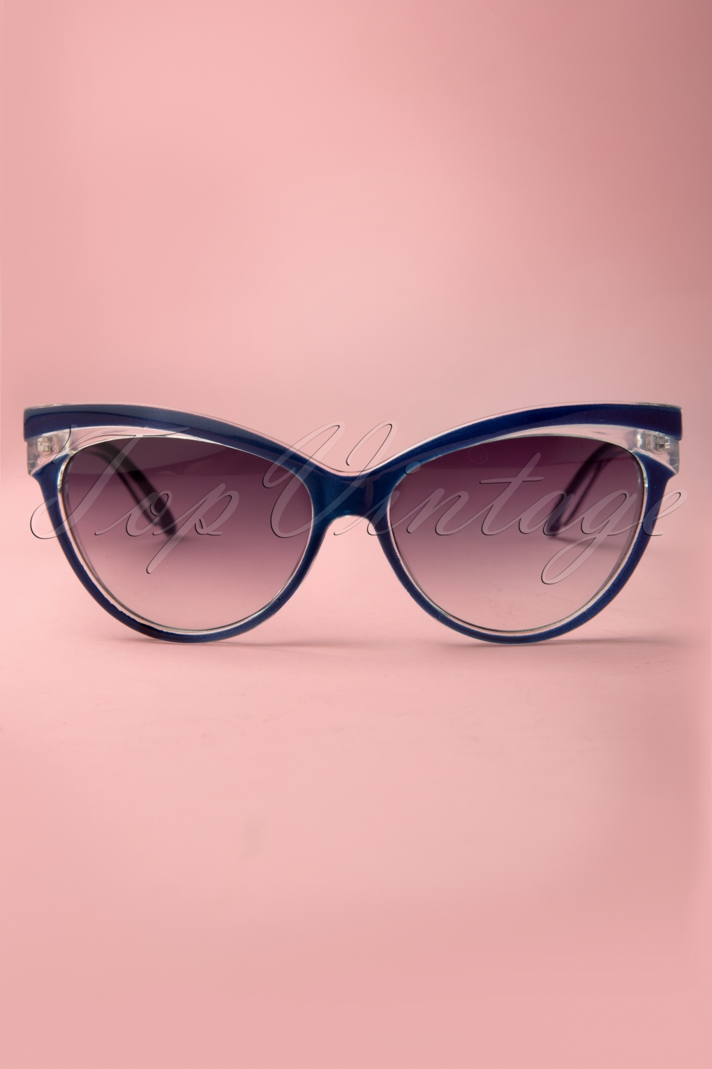 1950s Sunglasses & Eyeglasses Frames Judy Classic 50s Sunglasses in Navy £13.50 AT vintagedancer.com