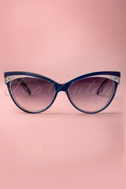 Collectif Clothing Judy Classic 50s Cat Eye Sunglasses 260 31 12855 20140516 0006W