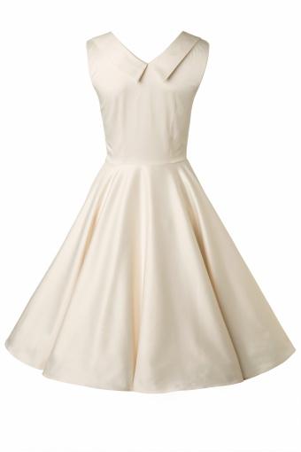 Trashy Diva 50s Ivory Honey Swing Wedding Dress 102 50 13214 20140521 0008