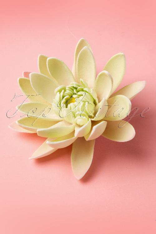 Miss Candyfloss Water lily Hairflower Hairclip 200 40 12908 20140603 0002W